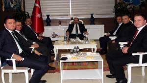 Vali Ustaoğlu, İçişleri Bakanlığı heyetini ağırladı