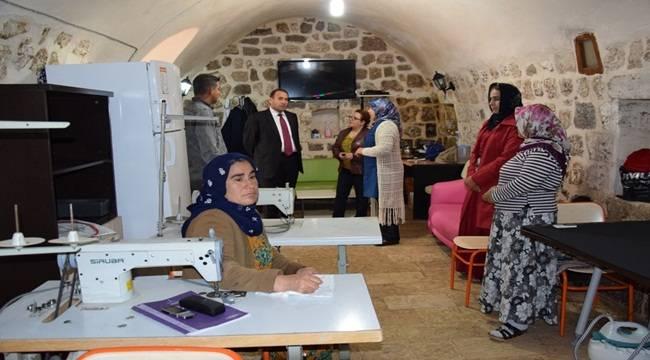 Viranşehir'de Mesleki Eğitim ve beceri kursları açıldı