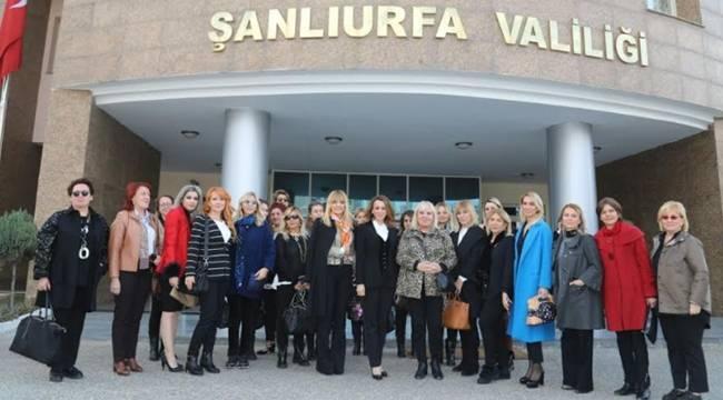 Yıldız Sarayı Vakfı'ndan Şanlıurfa Valiliği'ne Ziyaret