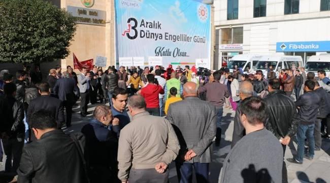 3 Aralık Dünya Engelliler Günü Urfa'da Çeşitli Etkinliklerle Kutlandı-Videolu Haber