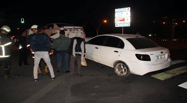 Abide Kavşağında Kaza, 6 Yaralı