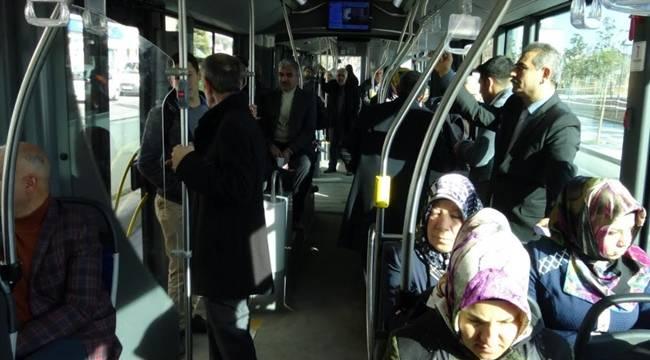 Açar, Otobüste Vatandaşın Sorunlarını Dinledi-Videolu Haber