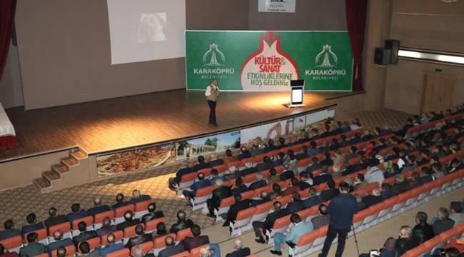 Başbakan Başdanışmanı Savaş Barkçin Urfa'da Konferans Verdi