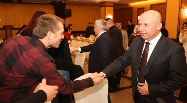 Başkan Çolakbayrakdar Çölyaklılar ile bir araya geldi