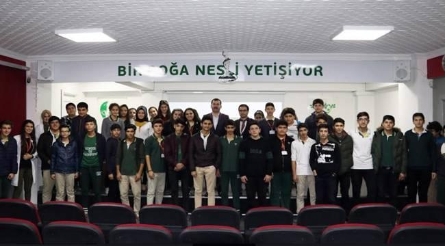 Baydilli'den Doğa Koleji Öğrencileri ile Söyleşide Buluştu- Videolu Haber