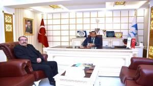 Ceylanpınarlılar Dernek Başkanından Başkan Atilla'ya Ziyaret