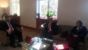 Çiftçi'den Pekin Büyükelçisi Önen'e Ziyaret