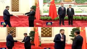 Çin Büyükelçisi Önen Güven Mektubunu Sundu