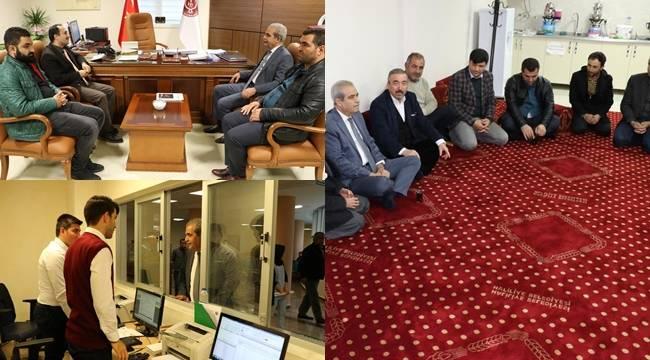 Demirkol, Harran Üniversitesi Tıp Fakültesini Ziyaret Etti-Videolu Haber