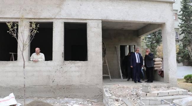 Demirkol, Ulubatlı Muhtar Evi İnşaatını İnceledi- Videolu Haber