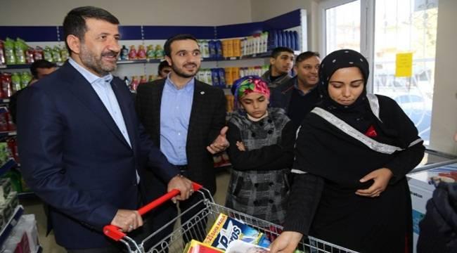 Eyyübiye'de açılan market kimsesizlere hizmet verecek-Videolu Haber
