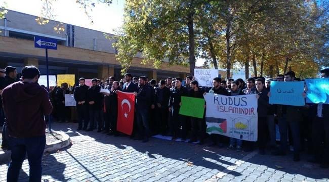 Harran Üniversitesi Öğrencilerinden Kınama