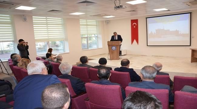 Harran Üniversitesinde araştırma merkezleri çalıştayı