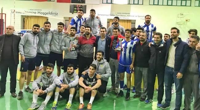 Harran Üniversitesinde Voleybol Takımı 1. Lige Çıktı