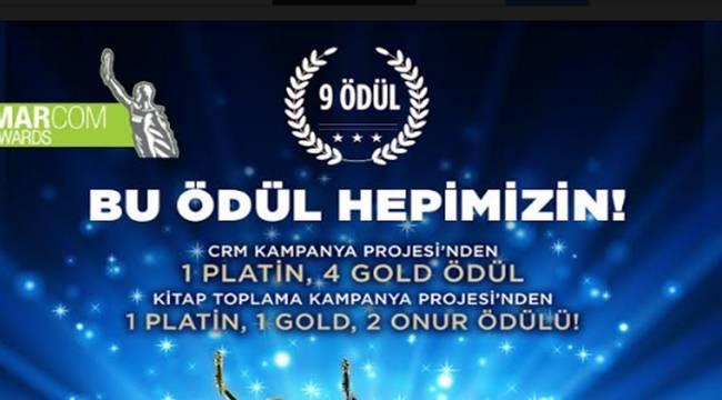 Rönesans Gayrimenkul'e Marcom Awards'tan 9 Ödül Birden