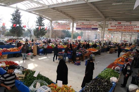 Şairnabi Semt Pazarı Açıldı-Videolu Haber