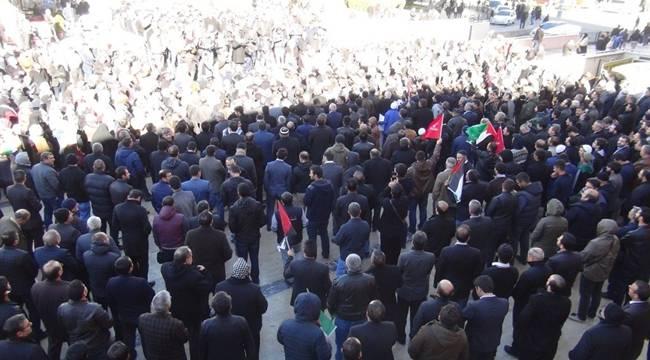 Şanlıurfa'da Binlerce Kişi Trump'u Protesto Etti