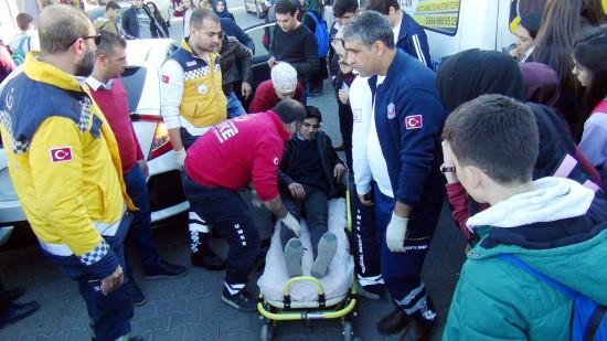 Şanlıurfa'da elektrikli bisiklet kazası