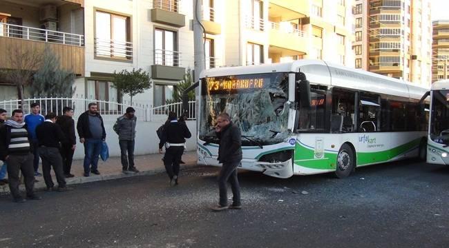 Şanlıurfa'da İkinci Belediye Otobüsü Vakası 4 Yaralı