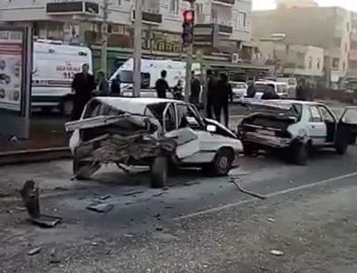 Şanlıurfa'da zincirleme trafik kazası: 1 ölü, 2 yaralı