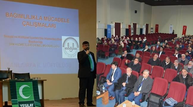 Siverek'te imamlara madde bağımlılığı semineri