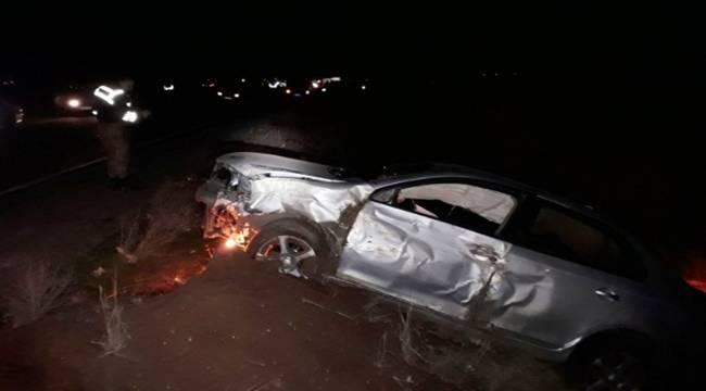 Suruç'ta Kamyonet ile otomobil çarpıştı, 7 Yaralı
