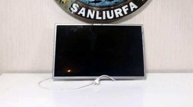 Televizyon Hırsızları Kovalamacası Sonucu Yakalandı