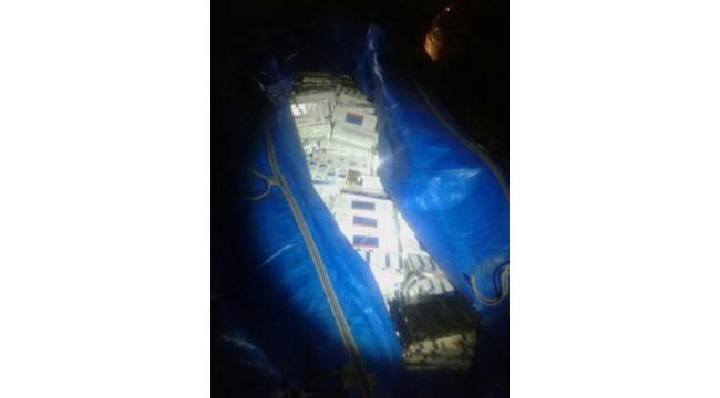 Urfa'da 29 bin Paket Kaçak Sigara Yakalandı