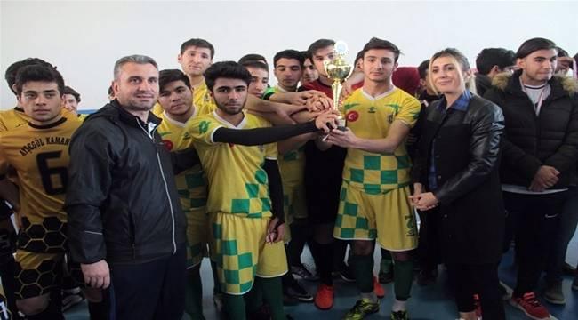 Urfa'da Futsal Turnuvası Sona Erdi