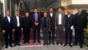 Urfa'daki Taşeron Firmalar Faruk Çelik'e Sorunlarını İletti