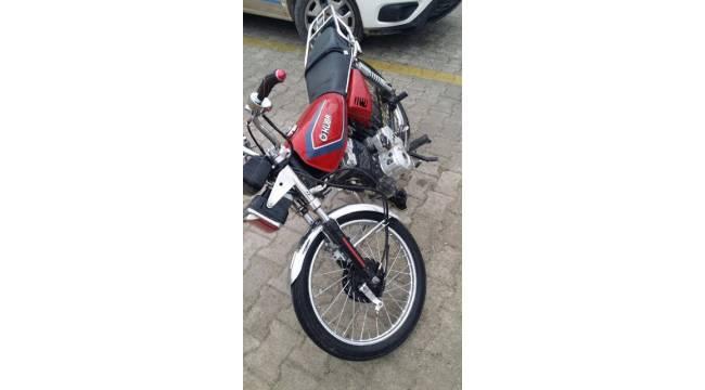Urfa'dan Çalınan Motosiklet Artuklu'da Yakalandı