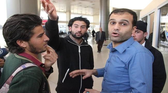 Urfa Otogarında Suriyeli Denetimi