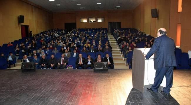 Viranşehir'de Okullarda kriz yönetimi konferansı