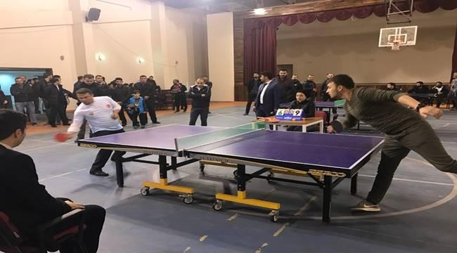 Ahmet Oktay Günak Masa Tenisi Turnuvası Düzenleniyor-Videolu Haber