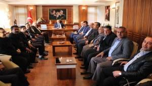 AK Parti Birecik Başkanından Kaymakam Perçi'ye Ziyaret