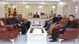 Ak Parti MKYK üyelerinden Atilla'ya ziyaret-Videolu Haber