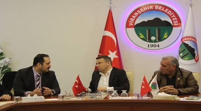 Aksa Şanlıurfa Doğalgaz Genel Müdürü Viranşehir'de-Videolu Haber