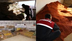 Antep'de Gıda Terörü, Tonlarca Sahte Fıstık Tozu ve Pul Biber Yakalandı