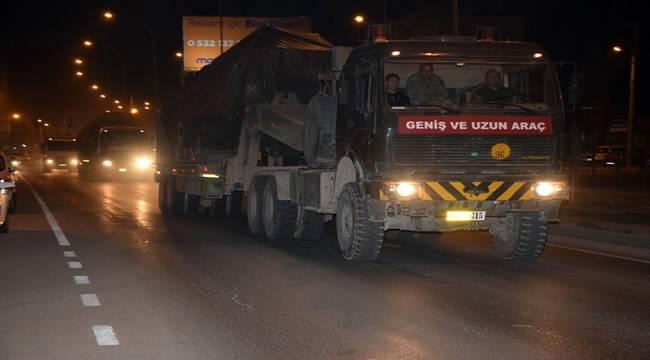 Askeri konvoy, Şanlıurfa'ya geldi