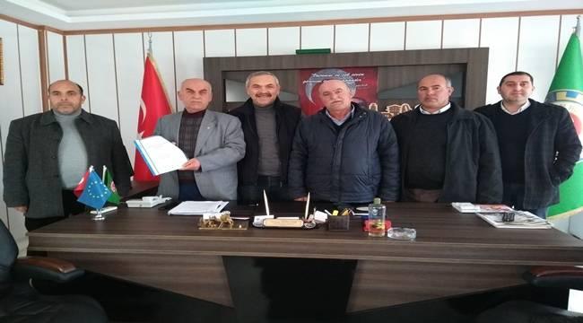 Bafralı Çiftçiler Tarım Raporunu Bakan Fakıbaba'ya İletti