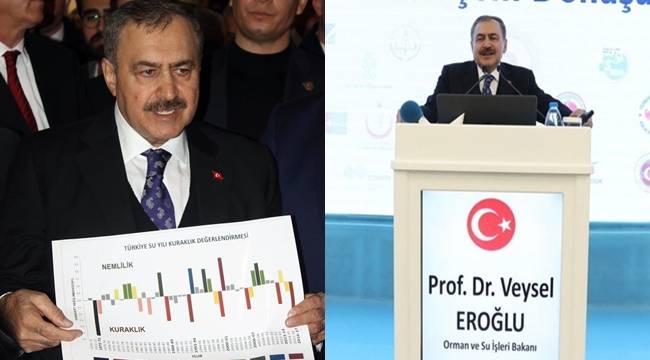 Bakan Eroğlu'ndan Şanlıurfa ve Diyarbakır Açıklaması