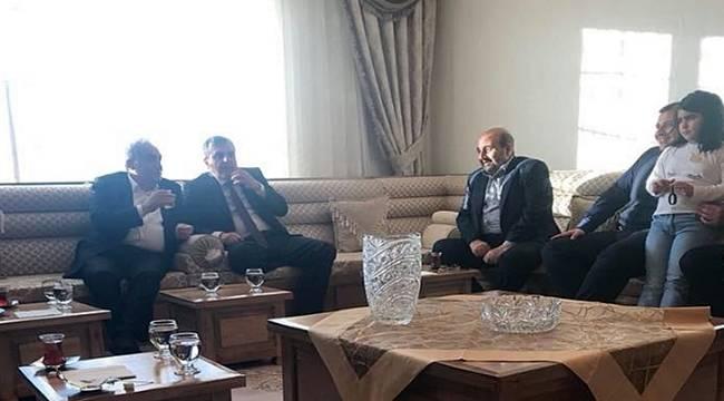 Bakan Fakıbaba'dan İş Adamı Canpolat'a Ziyaret