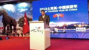 Büyükelçi Önen, Çin'de Türkiye Turizm Yılı etkinliklerini başlattı