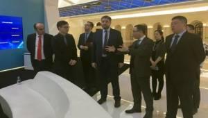 Büyükelçi Önen, Çin Şirketlerine Ziyaretlerini Sürdürüyor