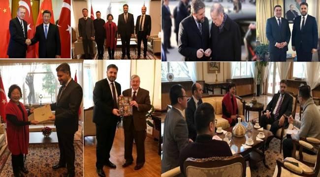 Büyükelçi Önen, Çin Ticaret Odası heyetini kabul etti
