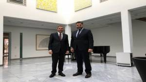 Büyükelçi Önen'den Michael Clauss'a ziyaret
