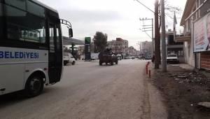Ceylanpınar'da Güvenlik En Üst Seviyeye Çıkartıldı