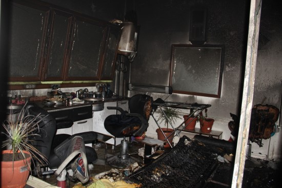 Elektrikli sobayı kapatmadan uyuyunca yangın çıktı