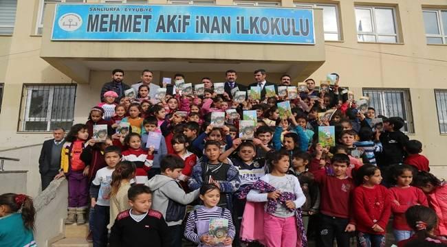 Eyyübiye'de 40 Bin Kitap Dağıtıldı- Videolu Haber