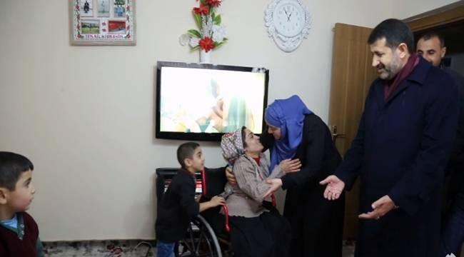 Eyyübiye'de 57 Bin Dar Gelirli Aile Var-Videolu Haber